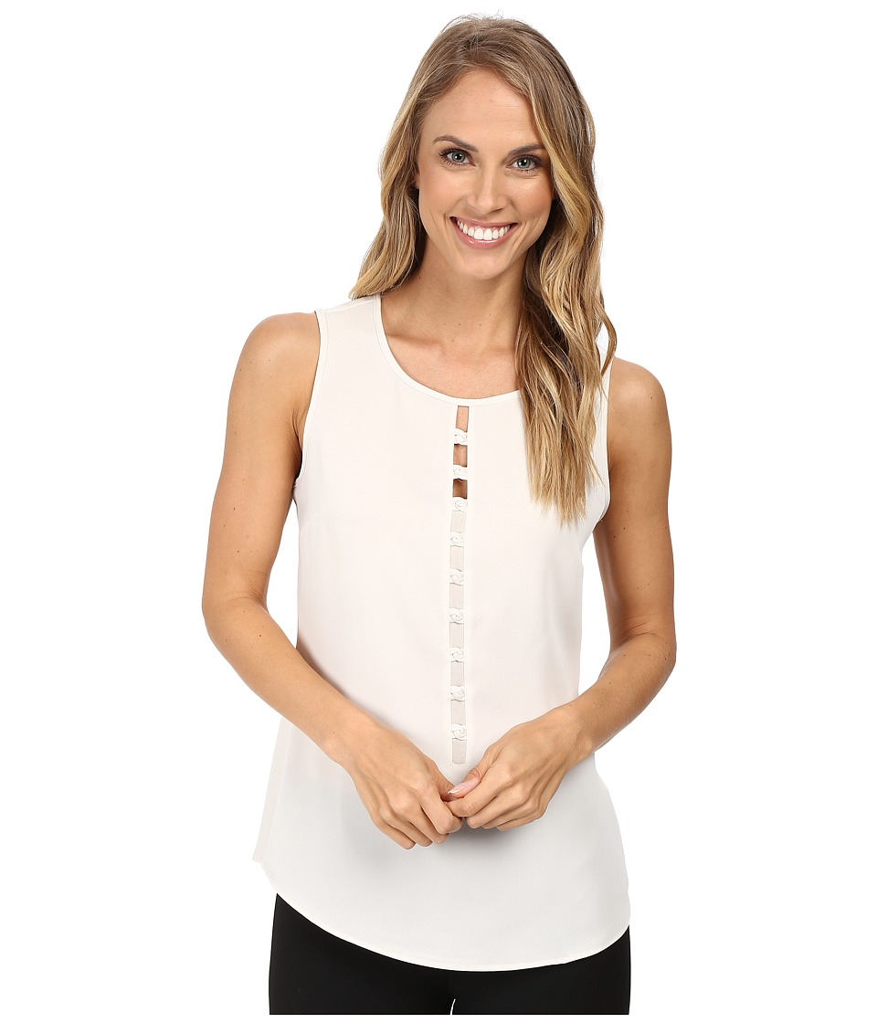 NIC+ZOE - Vertical Knot Top (Rainy Day) Women's Clothing