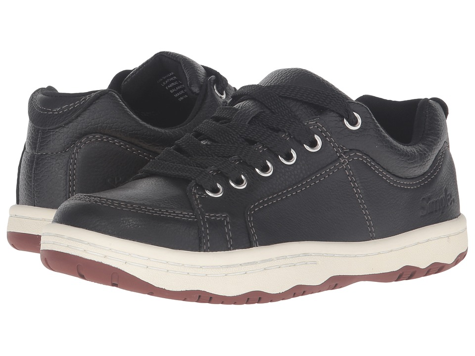 Simple - Osneaker-L (Black) Men's Shoes