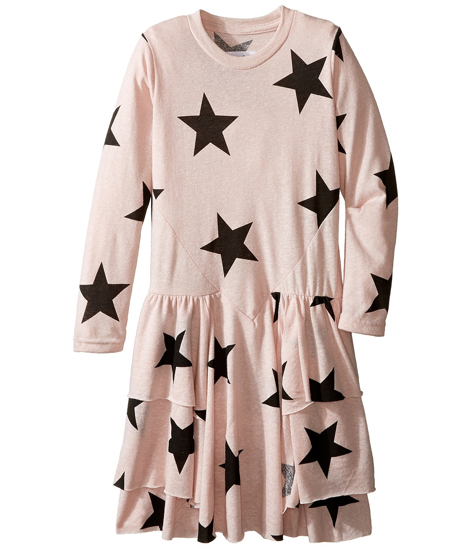 Nununu - Extra Soft Layered Dress (Little Kids) (Powder Pink) Girl's Dress