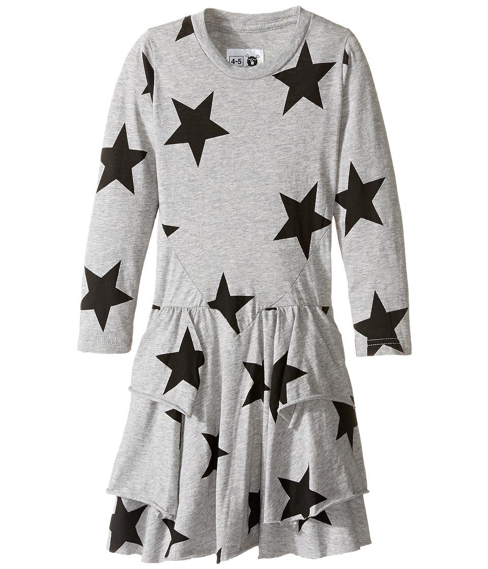 Nununu - Extra Soft Layered Dress (Infant/Toddler/Little Kids) (Heather Grey) Girl's Dress