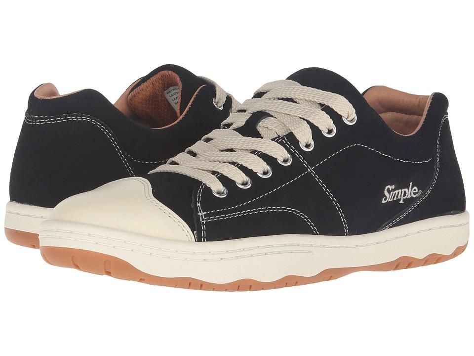Simple - Retro-91 (Black) Men's Shoes