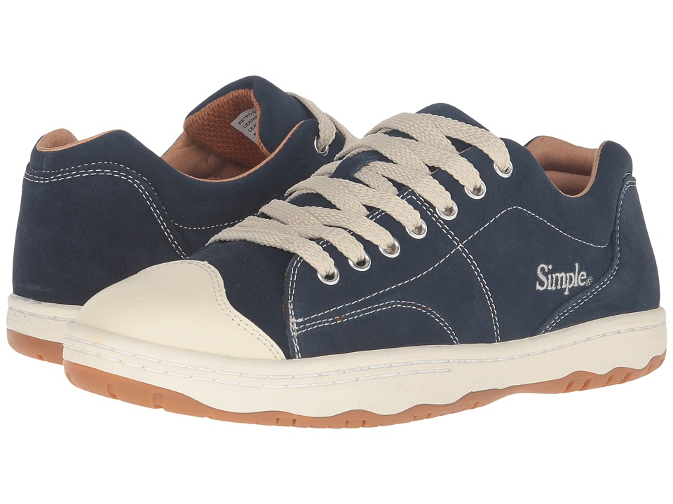 Simple - Retro-91 (Navy) Men's Shoes