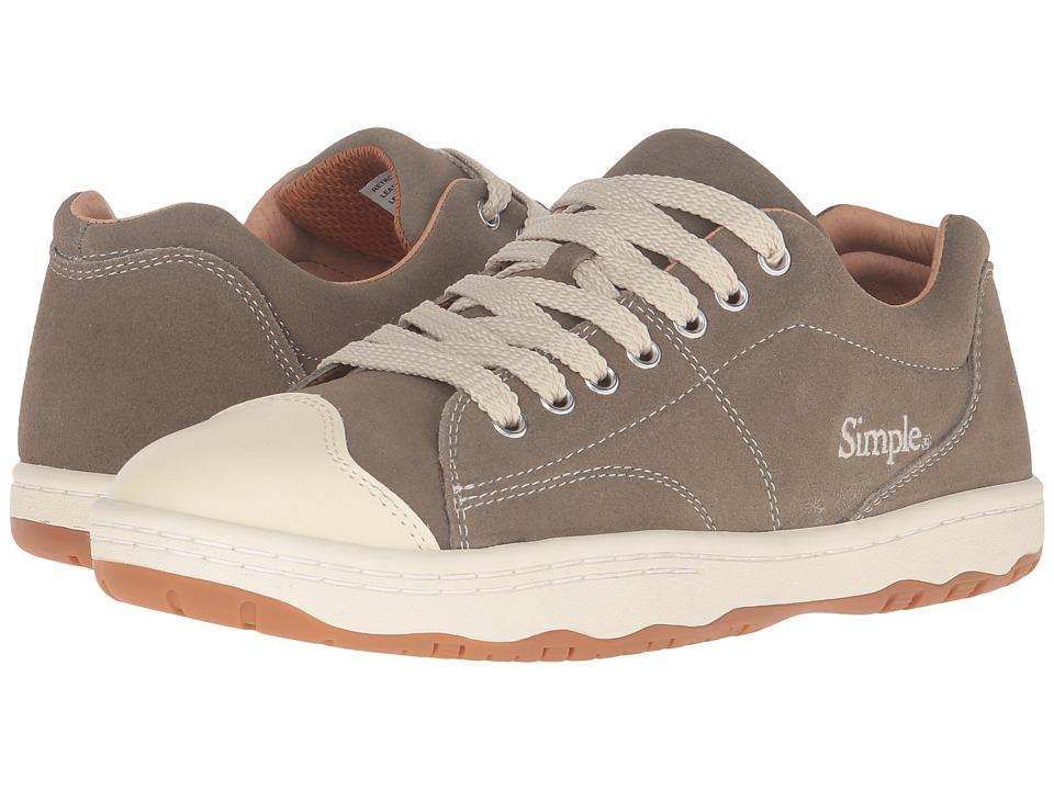 Simple - Retro-91 (Olive) Men's Shoes