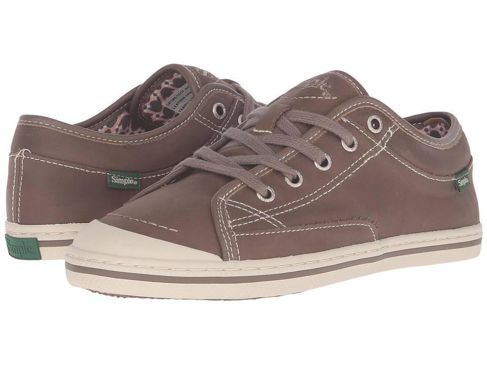 Simple - Satire-L (Coffee) Women's Shoes