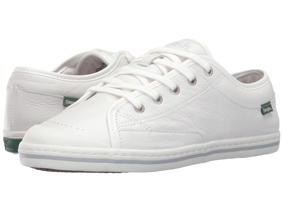 Simple - Satire-L (White) Women's Shoes