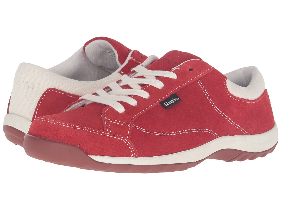 Simple - Sugar (Red) Women's Shoes