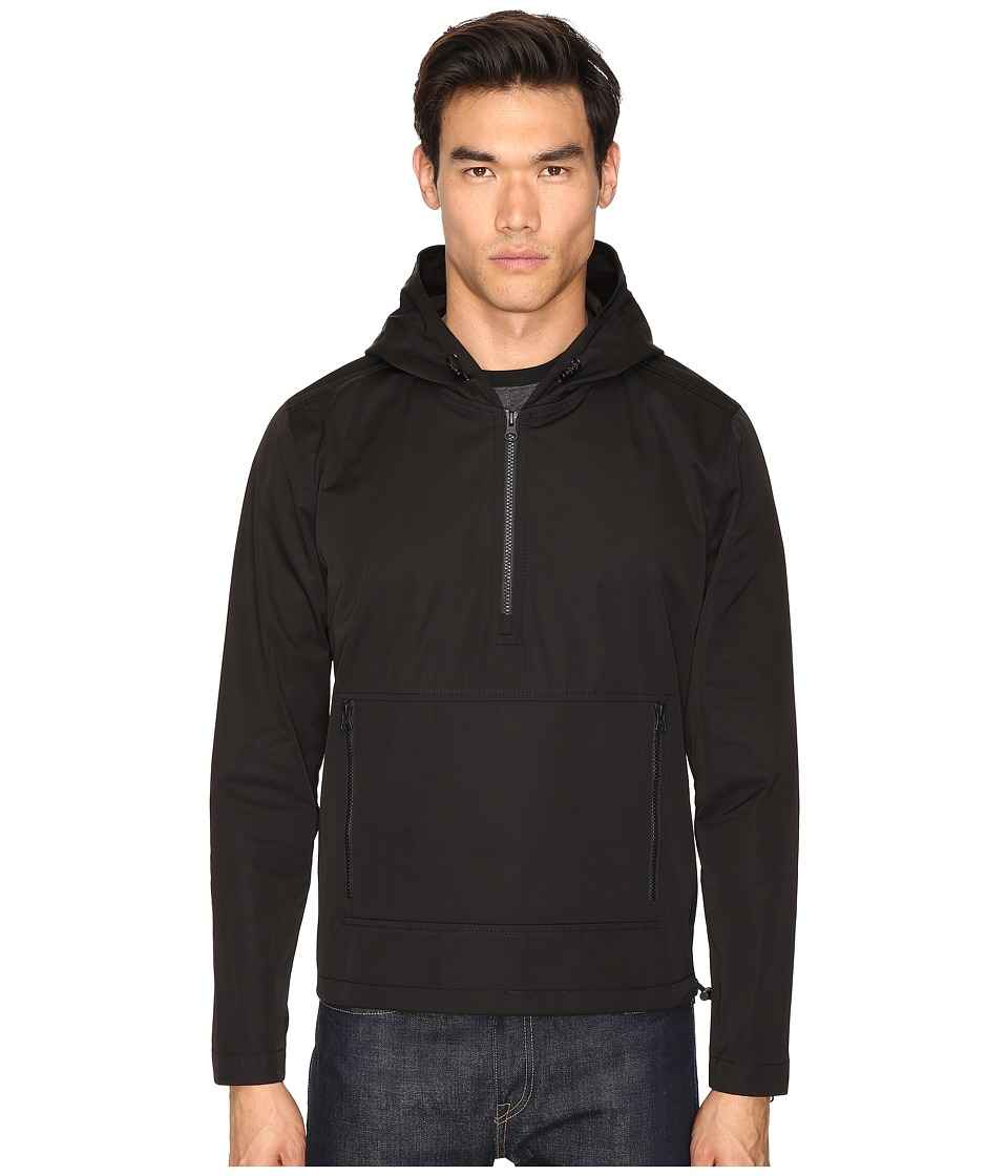 ATM Anthony Thomas Melillo - Hooded Anorak (Black) Men's Coat