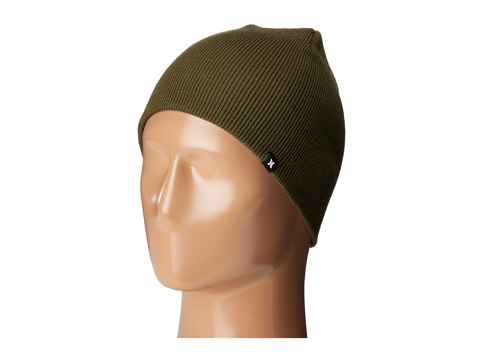 Hurley - One and Only Knit Hat (Faded Olive) Beanies