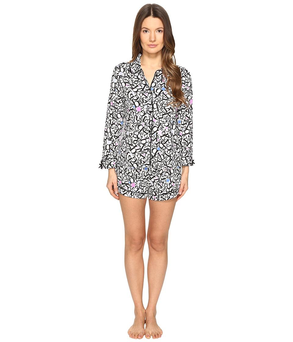 Kate Spade New York - Short PJ Set (Letters) Women's Pajama Sets