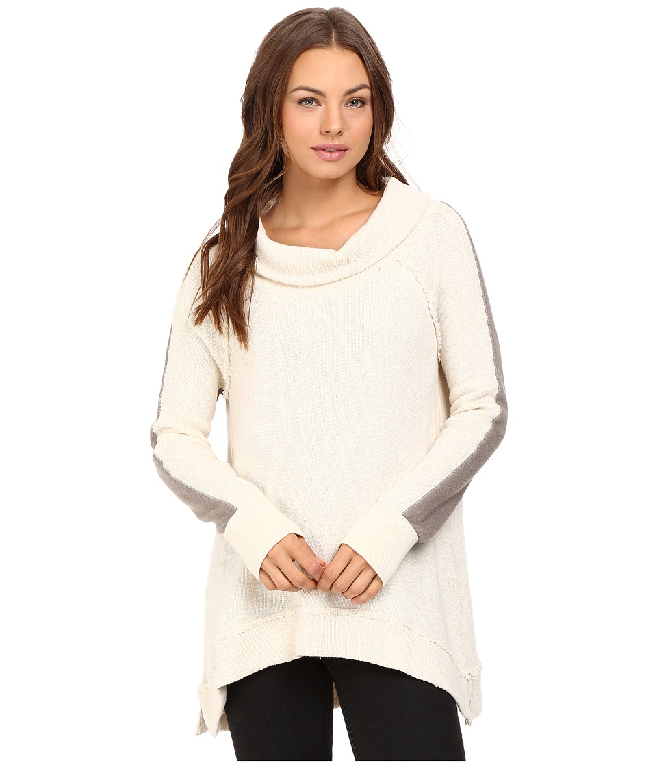 Free People - Yo Yo Color Blocked Pullover (Ivory Combo) Women's Clothing