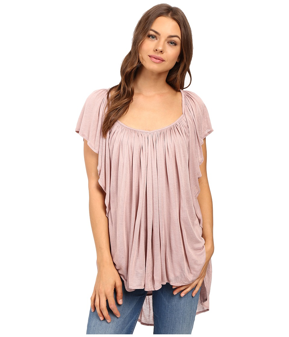 Free People - Forever and Always Tee (Pink) Women's Clothing
