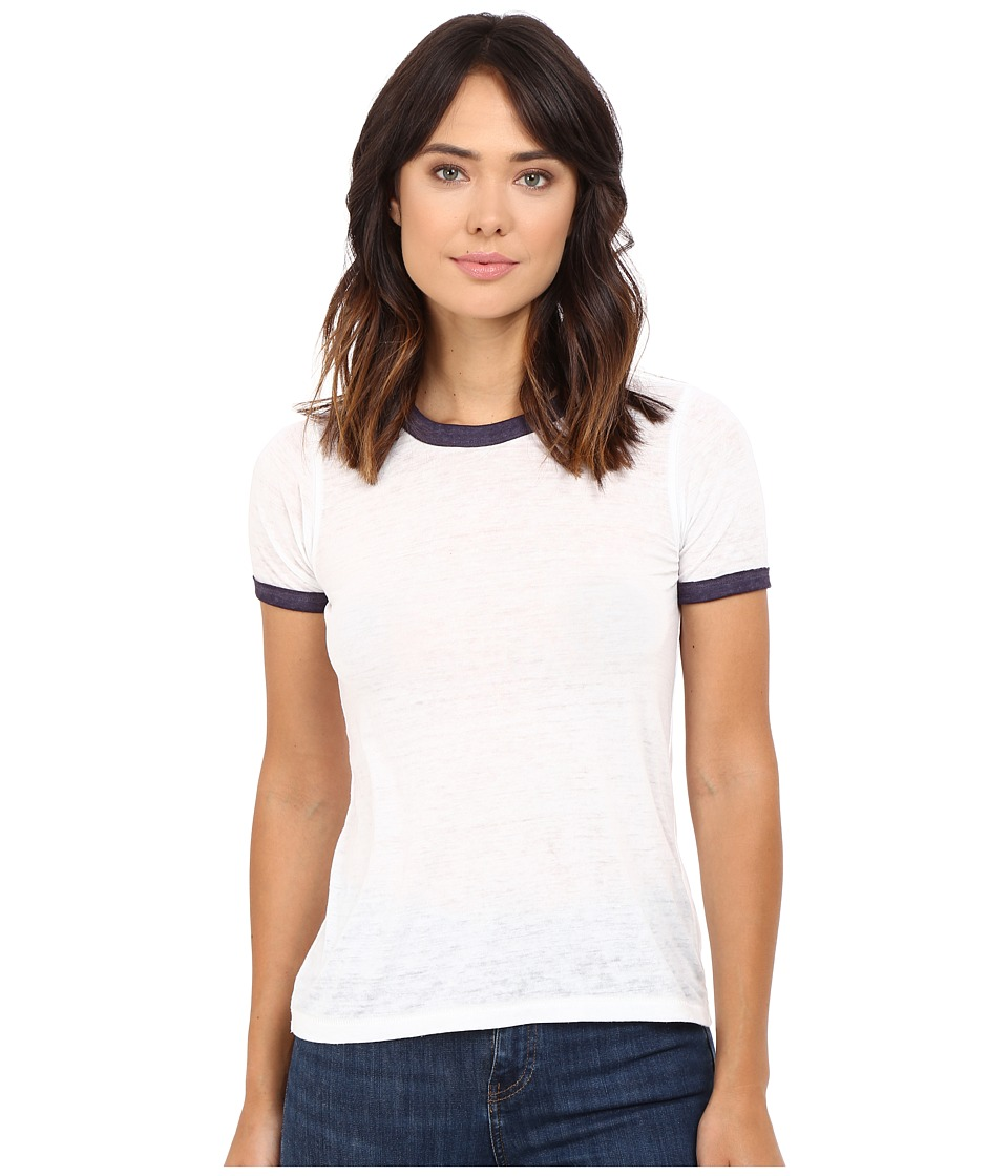 Free People - Brixton Tee (Ivory) Women's T Shirt
