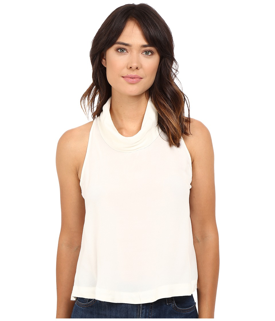 Free People - City Lights Cowl Top (Ivory) Women's Clothing