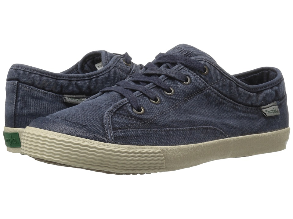 Simple - Wingman-D (Navy) Men's Shoes