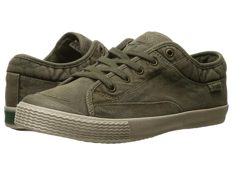 Simple - Wingman-D (Olive) Men's Shoes