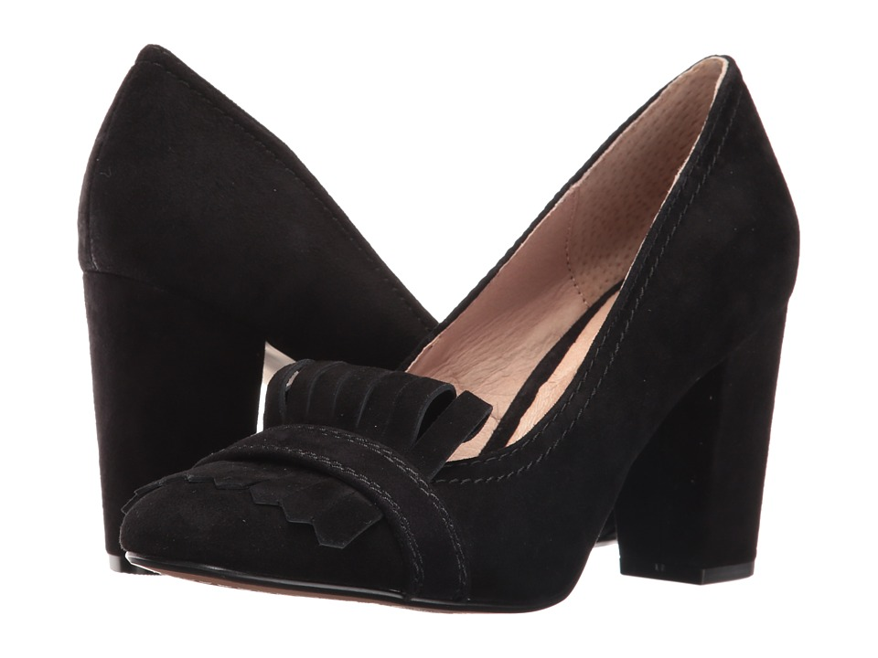 Steven Jade (Black Suede) High Heels