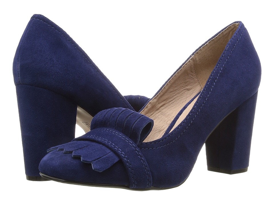 Steven - Jade (Blue Suede) High Heels