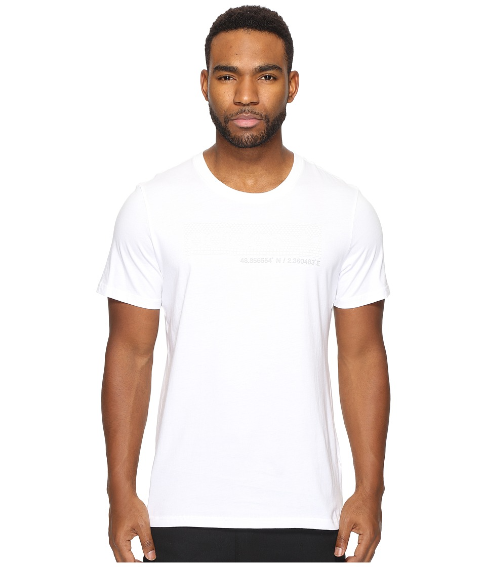 adidas Originals - Box Logo (White) Men's T Shirt