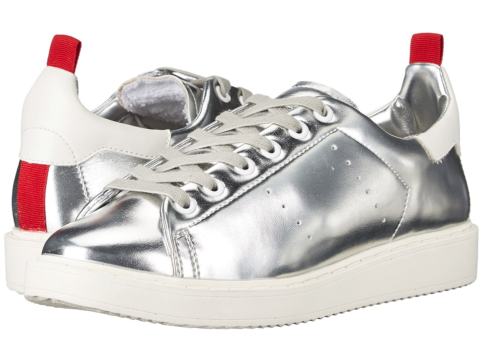 Steven - Macie (Silver Metallic) Women's Lace up casual Shoes