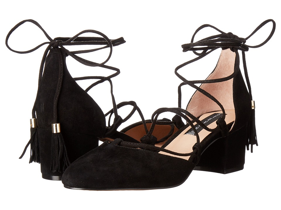 Steven - Valo (Black Suede) High Heels