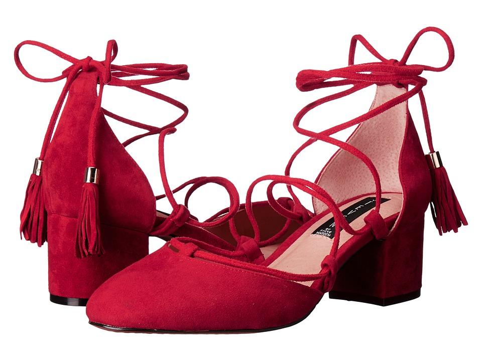 Steven - Valo (Red Suede) High Heels