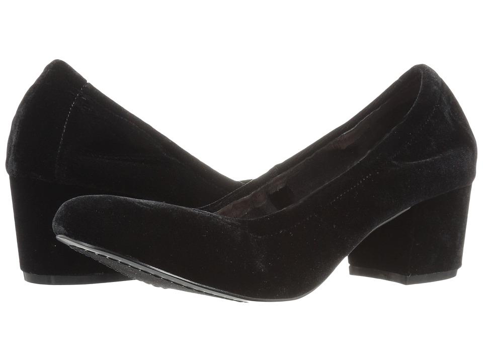 Steven Pavla (Black Velvet) High Heels