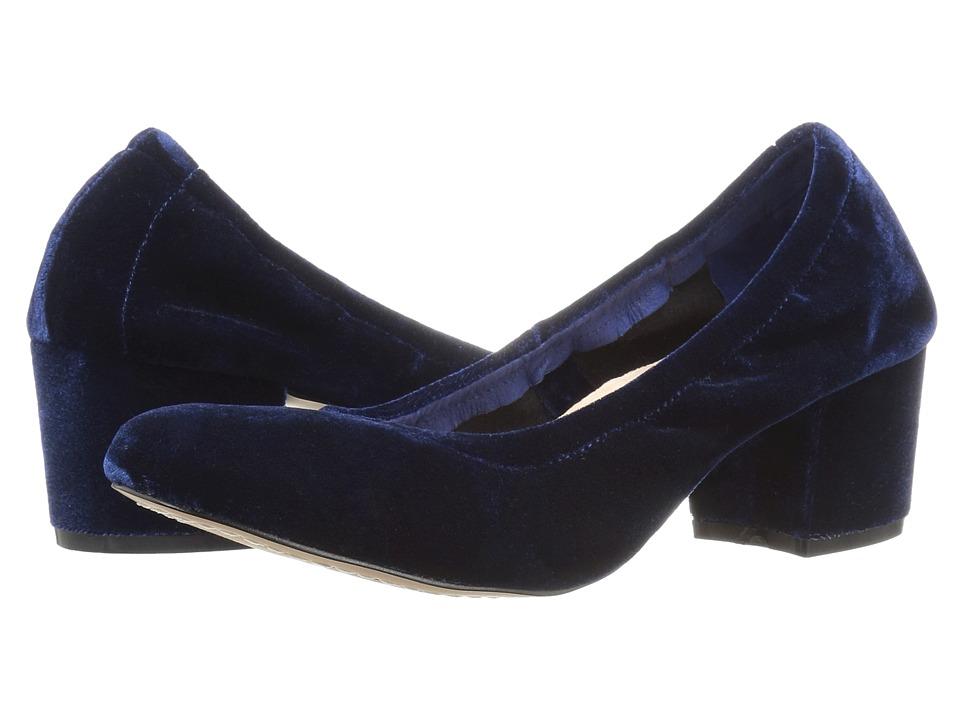 Steven Pavla (Blue Velvet) High Heels