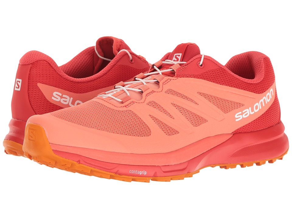 Salomon - Sense Pro 2 (Living Coral/Poppy Red/Bright Marigold) Women's Shoes