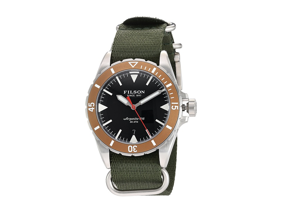 Filson - Dutch Harbor Watch 43 mm (Black) Watches
