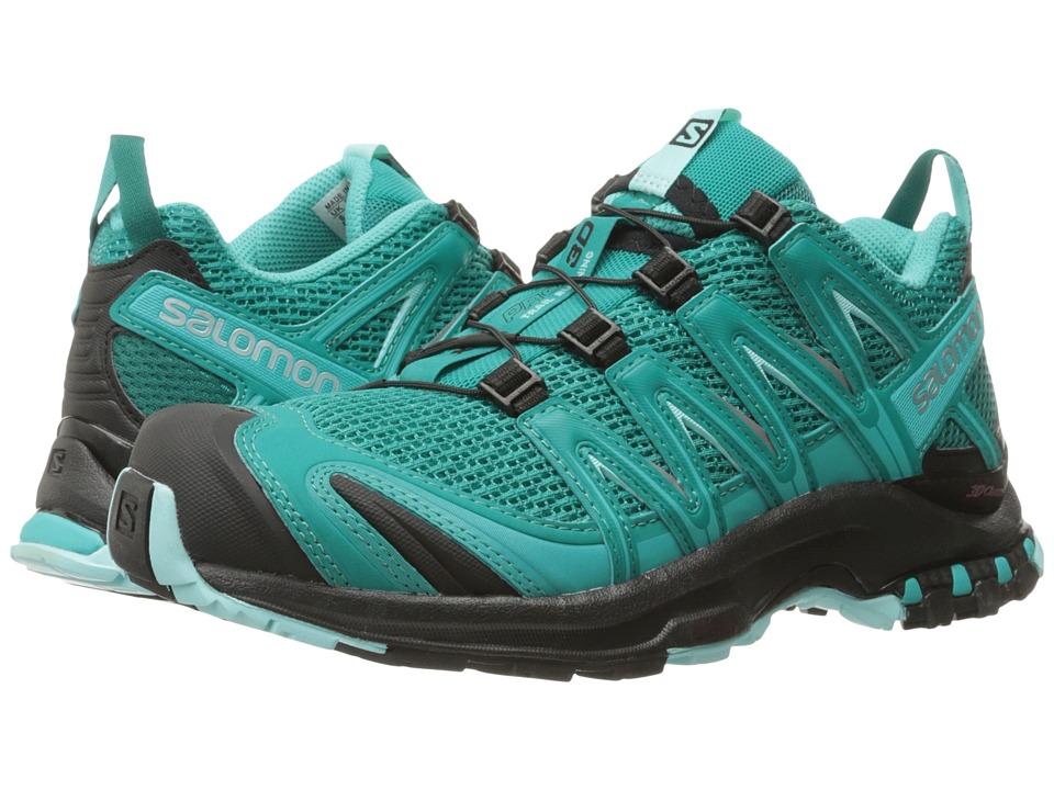Salomon - XA Pro 3D (Deep Peacock Blue/Black/Aruba Blue) Women's Running Shoes
