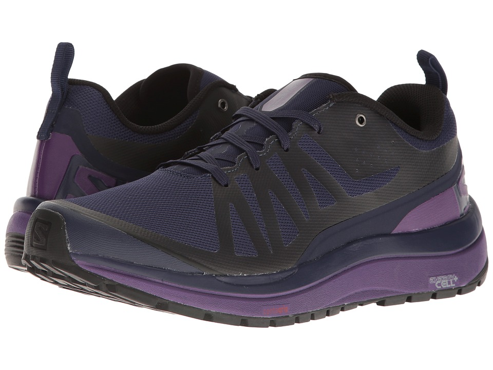 Salomon - Odyssey Pro (Evening Blue/Astral Aura/Acai) Women's Shoes