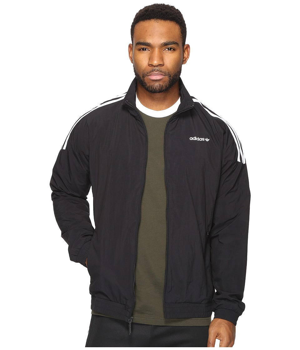adidas Originals - Woven Track Top (Black) Men's Clothing