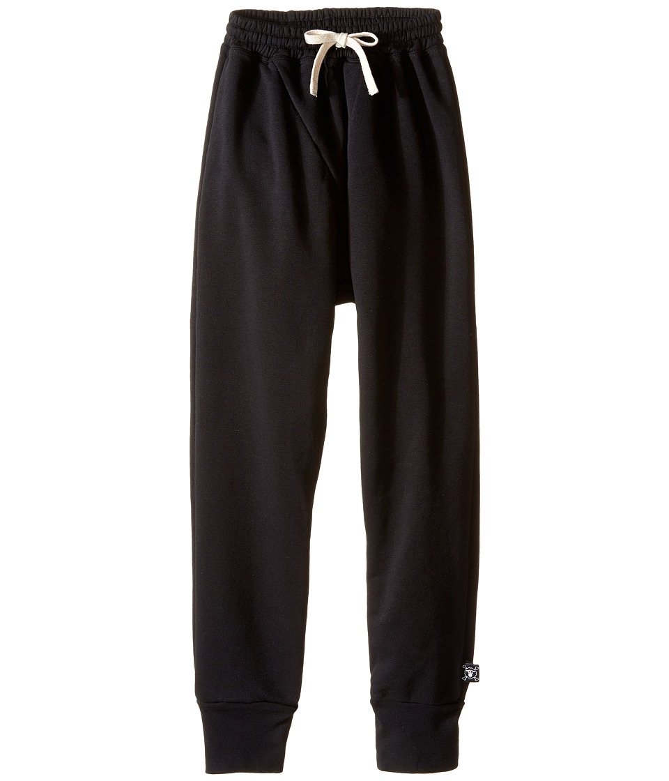 Nununu - Diagonal Super Soft Sweatpants (Little Kids/Big Kids) (Black) Kid's Casual Pants