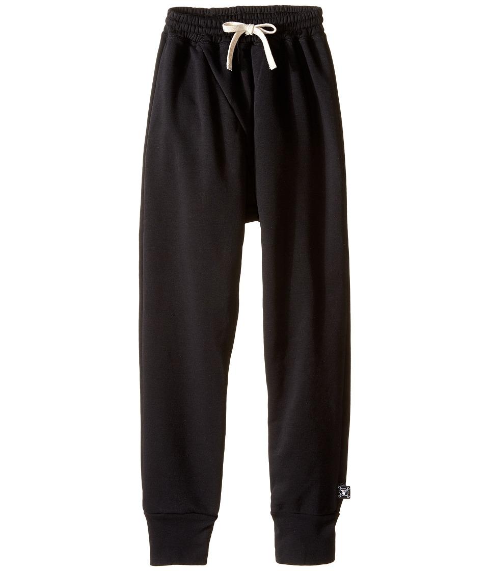 Nununu - Diagonal Super Soft Sweatpants (Little Kids/Big Kids) (Black) Kid's Casual Pants