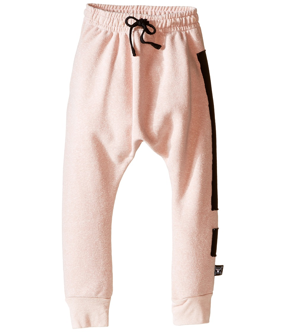 Nununu - Extra Soft Exclamation Print Baggy Pants (Infant/Toddler/Little Kids) (Powder Pink) Girl's Casual Pants