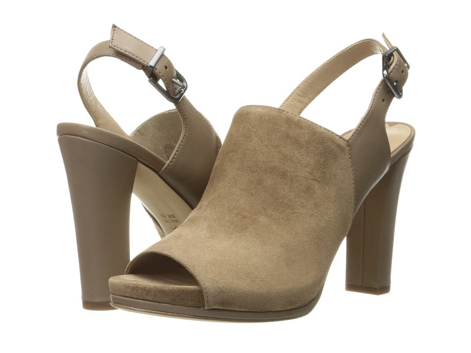 Via Spiga - Cara (Dark Taupe Coco Sport Suede) High Heels