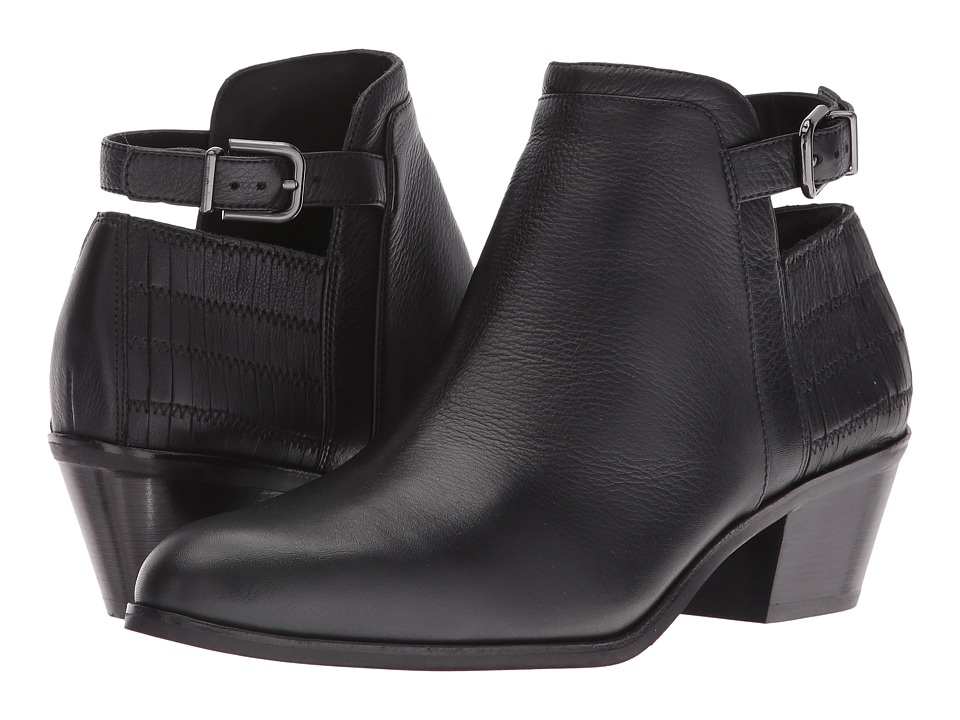 Via Spiga Caryn (Black Olympia Calf Leather) Women