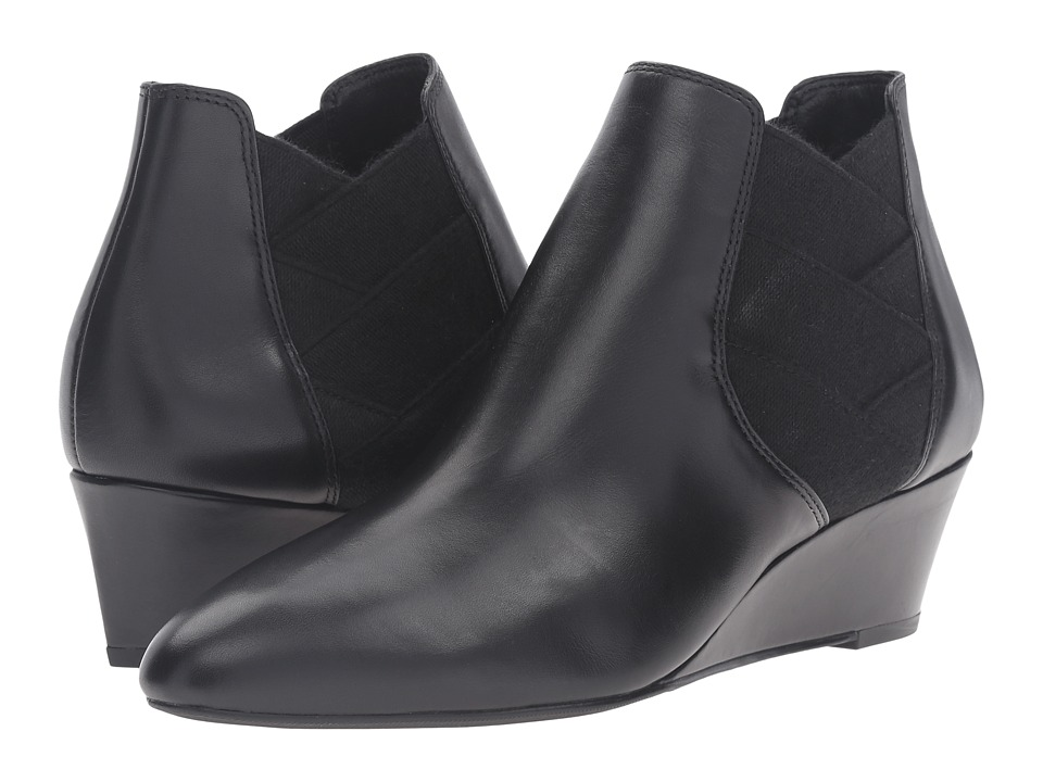 Via Spiga - Harlie (Black Harvard Calf Leather) Women's Boots