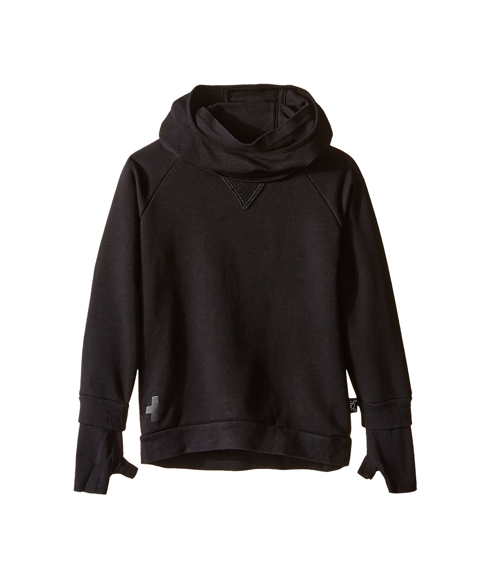Nununu - Soft and Stealth Ninja Sweatshirt with Hood (Infant/Toddler/Little Kids) (Black) Kid's Sweatshirt