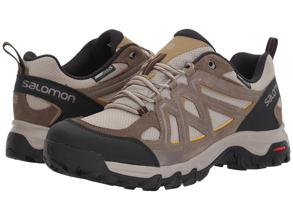 Salomon - Evasion 2 CS WP (Vintage Kaki/Bungee Cord/Honey) Men's Shoes