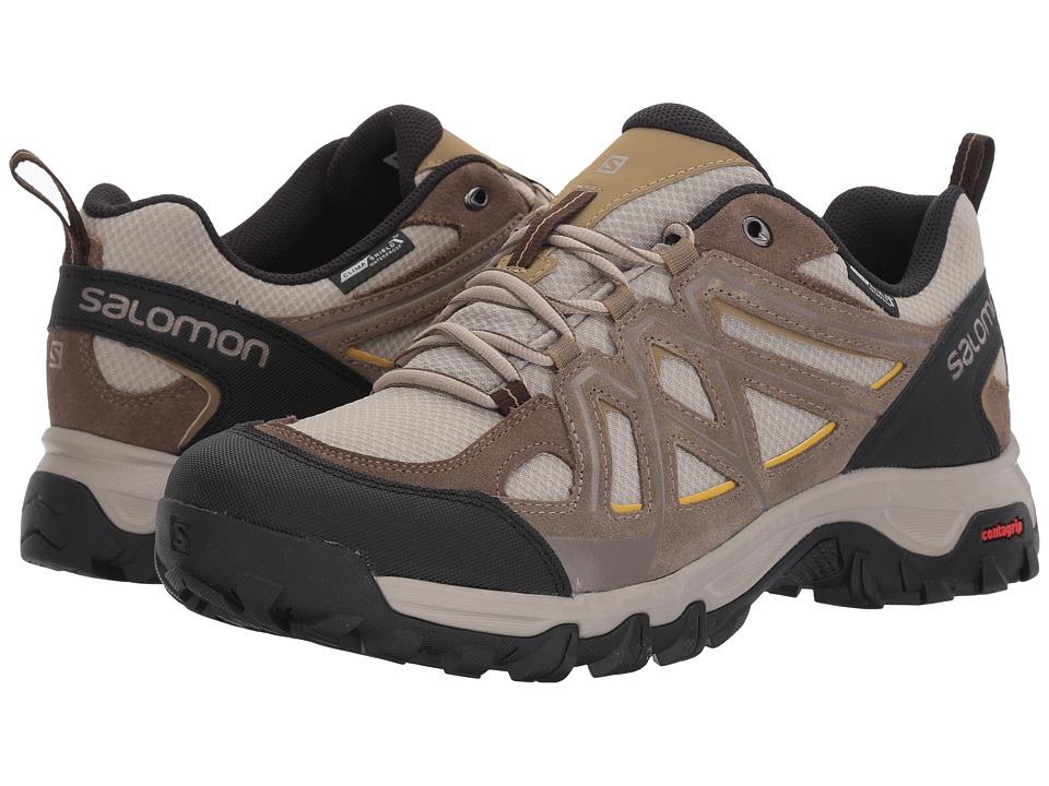 Salomon - Evasion 2 CS WP (Vintage Kaki/Bungee Cord/Honey) Men's Shoes