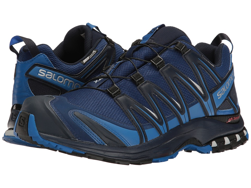 Salomon - XA PRO 3D CS WP (Blue Depths/Nautical Blue/Navy Blazer) Men's Shoes