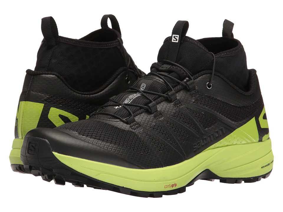 Salomon - XA Enduro (Black/Lime Green/Black) Men's Shoes
