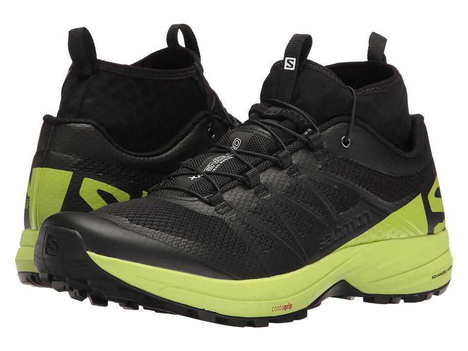 Salomon XA Enduro (Black/Lime Green/Black) Men