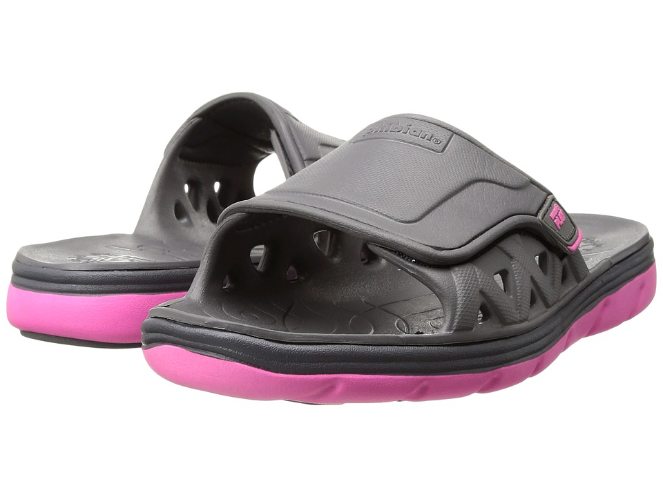 Stride Rite - Made 2 Play Phibian Slide (Toddler/Little Kid) (Grey/Pink) Girl's Shoes