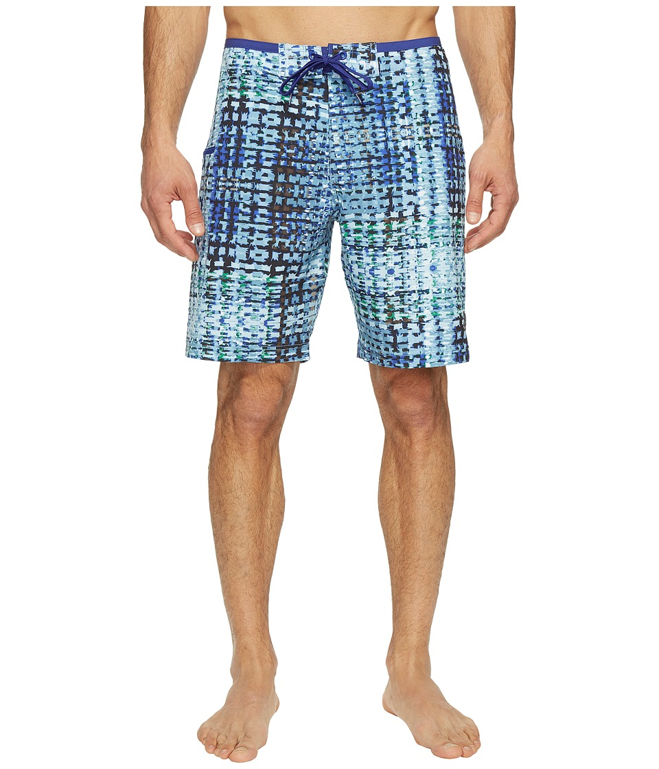 Prana - Catalyst Short (Dusky Skies Ripple) Men's Swimwear