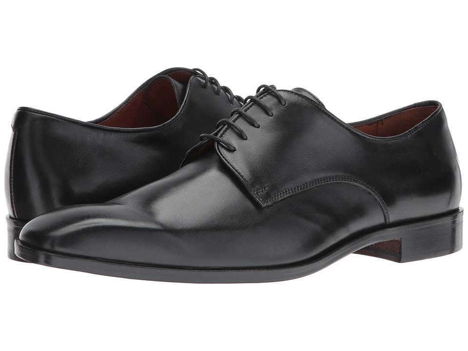 Massimo Matteo - 5-Eye Lace Up 16 (Black) Men's Shoes