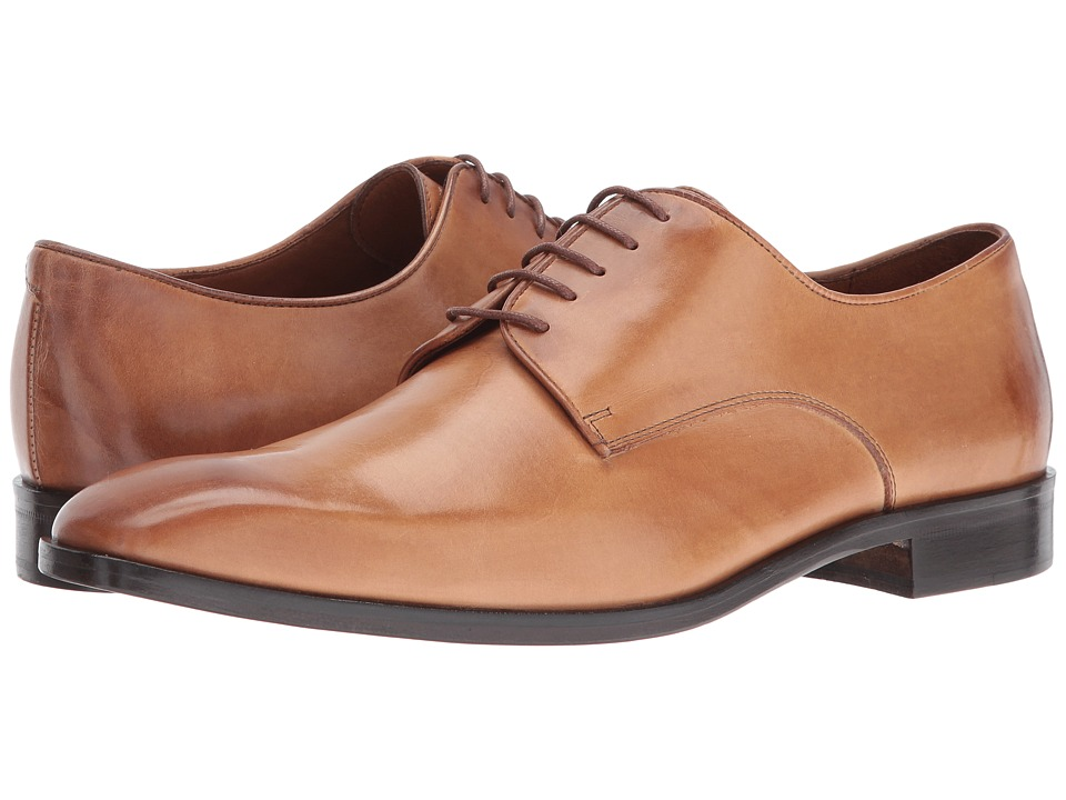 Massimo Matteo - 5-Eye Lace Up 16 (Brandy) Men's Shoes