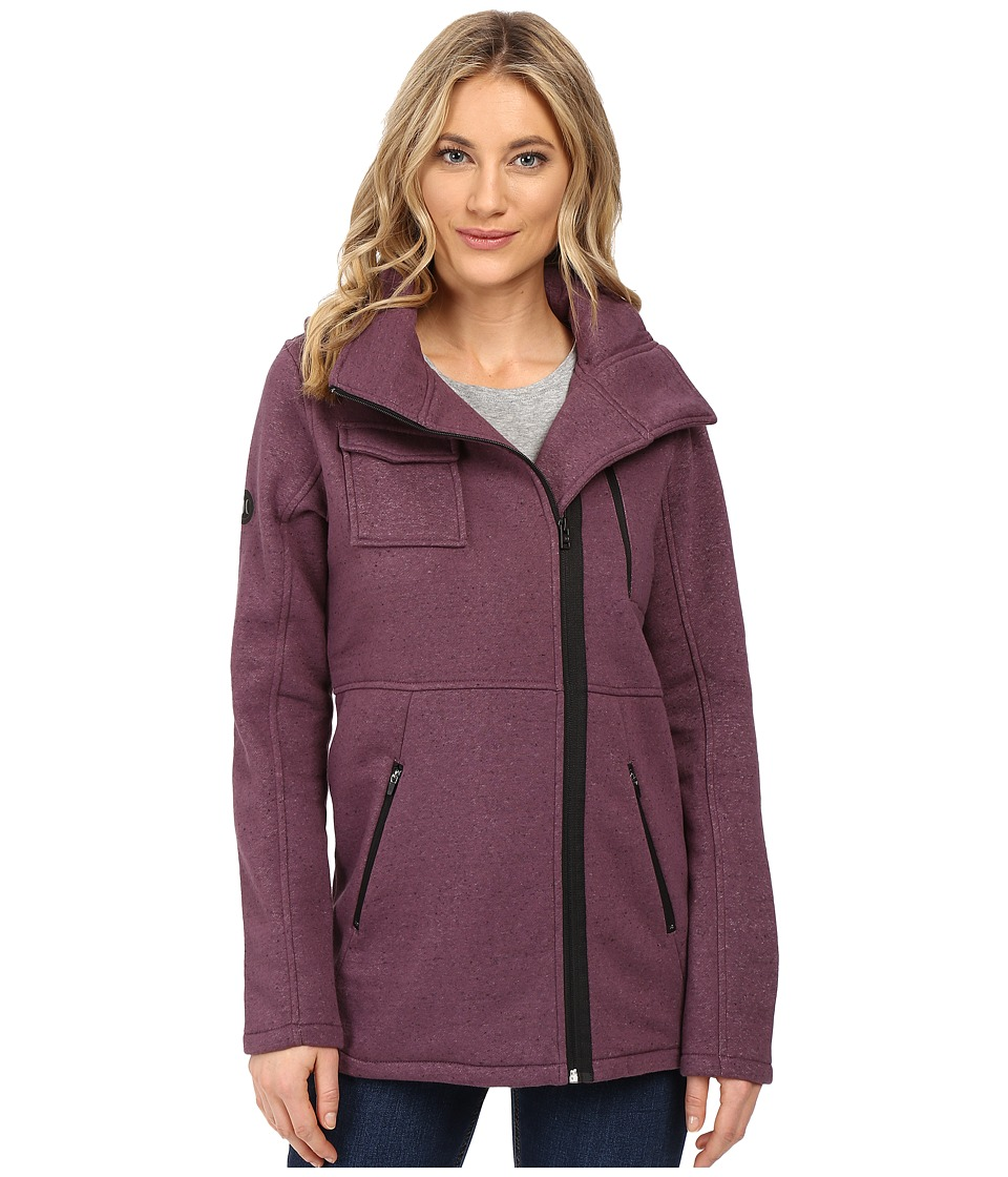 Hurley - Winchester Fleece (Heather Purple Shade) Women's Coat