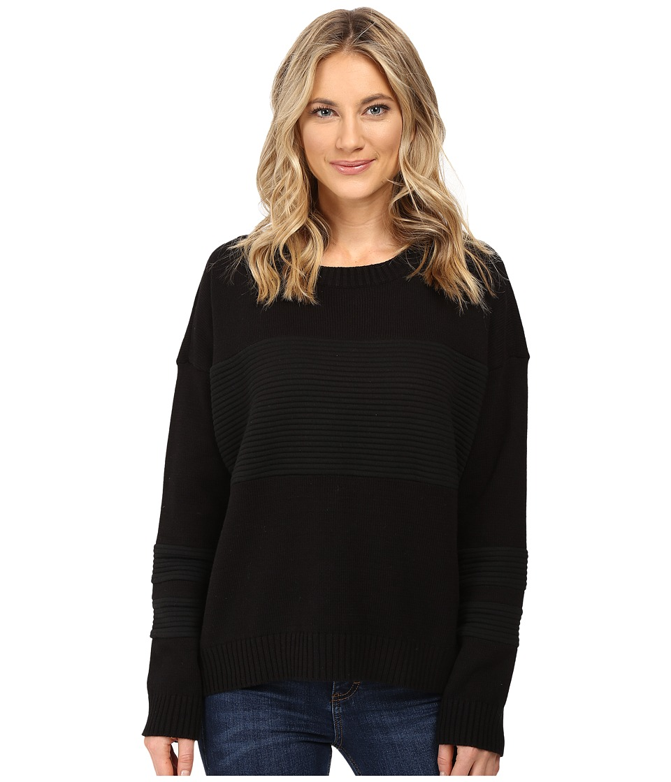 Hurley - Avery Pullover Sweater (Black) Women's Sweater